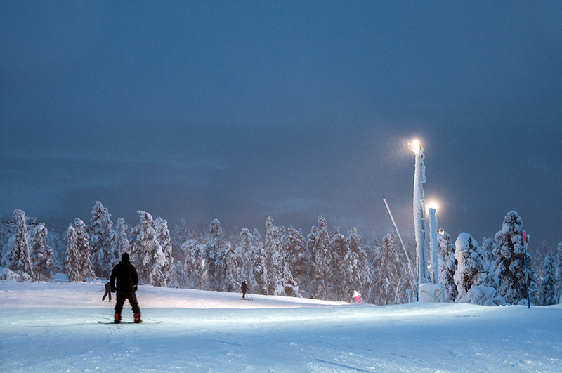 LED Luminaires are a perfect fixture for arctic conditions